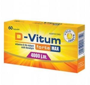 D-Vitum Forte Max 4000 j.m. x60kaps.