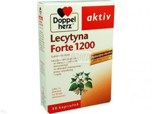 Doppelherz aktiv Lecytyna 1200 x 30 kaps.