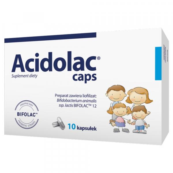 Acidolac caps 10 kaps.