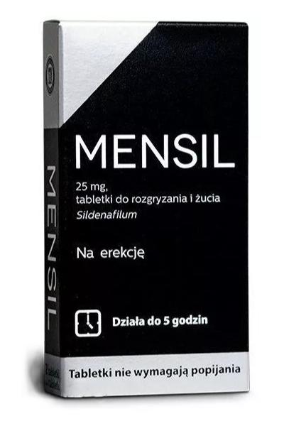 Mensil 25mg x 4 tabl.dorozgr.iżucia