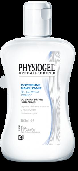 PHYSIOGEL hypoalergiczny żel do mycia twarzy 150ml