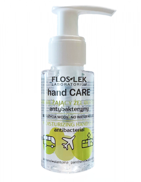 FLOS-LEK HAND CARE Nawilżający Żel antybakteryjny do rąk 50ml