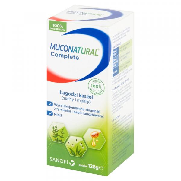 Muconatural Complete syrop żel. 128 g