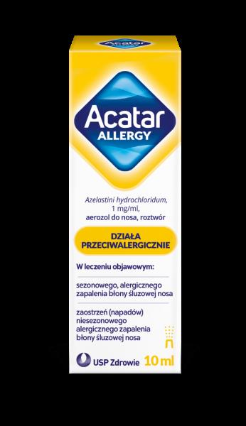 Acatar Allergy aerozol do nosa 1mg/ml 10ml