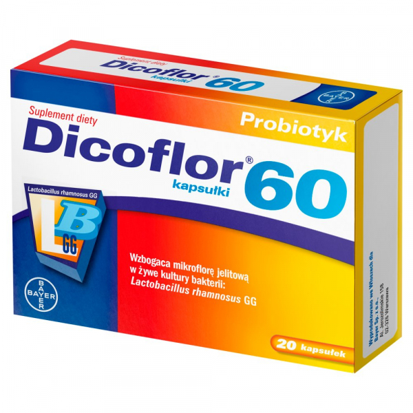 Dicoflor 60 - 20 kapsułek
