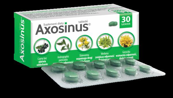 Axosinus na układ oddechowy 30 tabletek